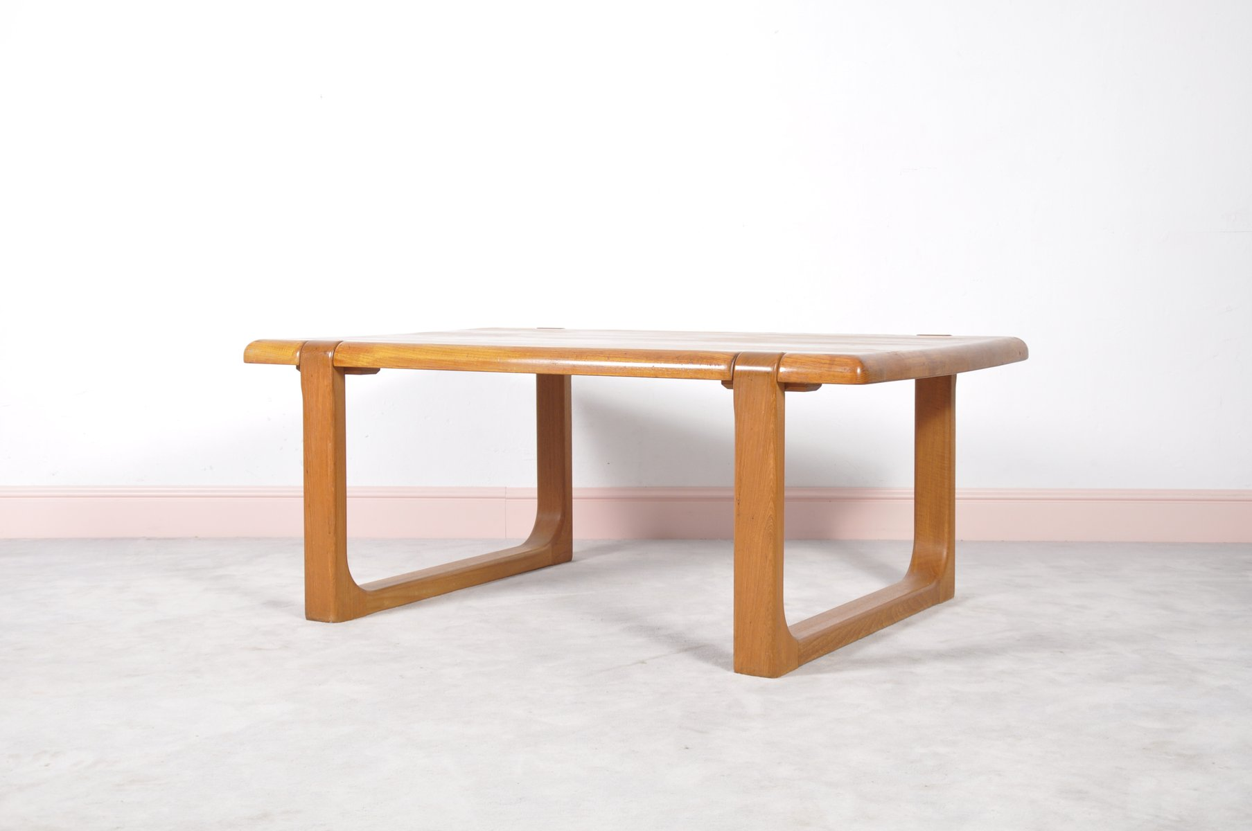 Danish Teak Coffee Table By Niels Bach 1960s For Sale At Pamono
