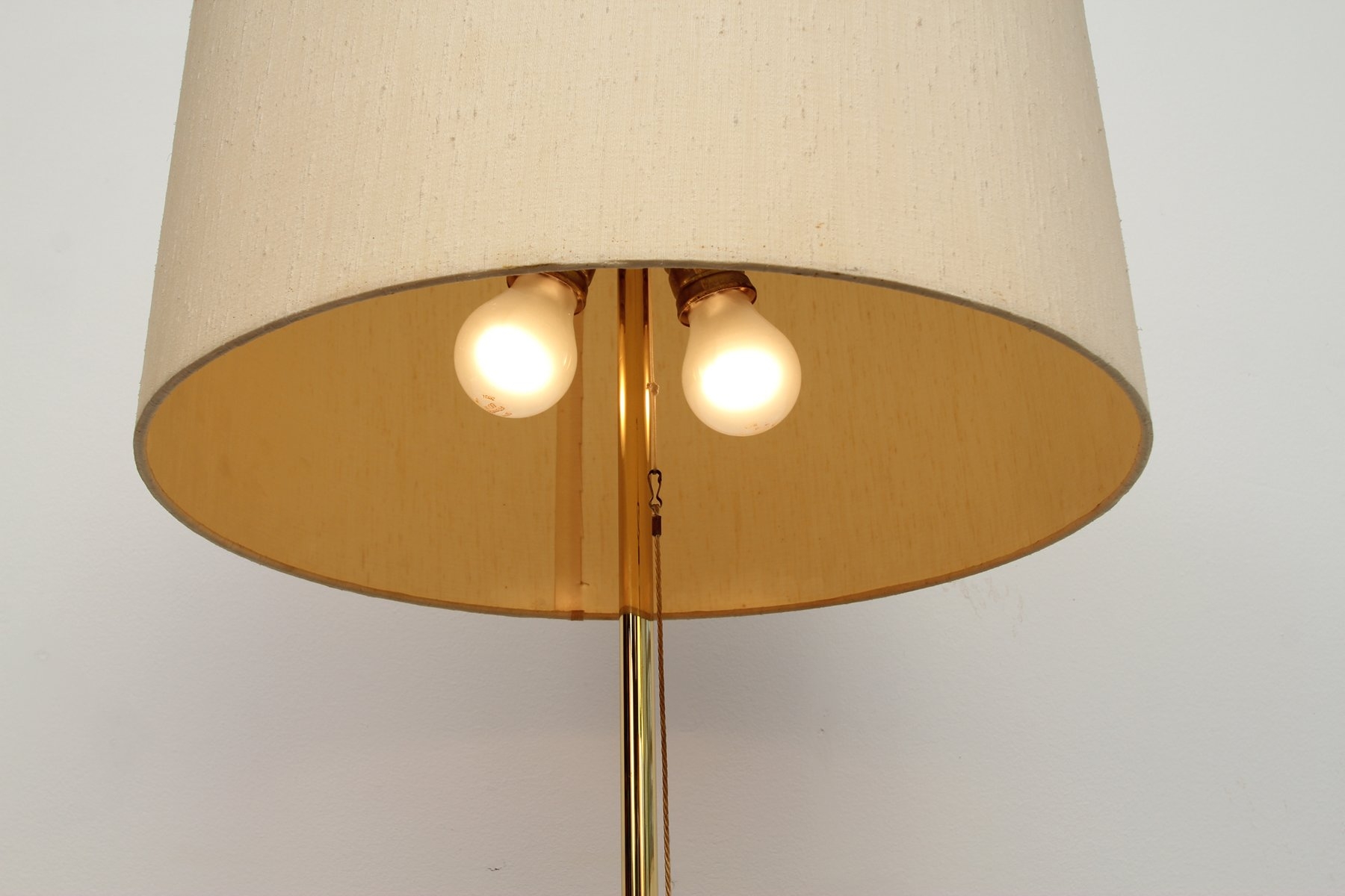 Brass floor lamp 1950s for sale at pamono for 1950 floor lamp