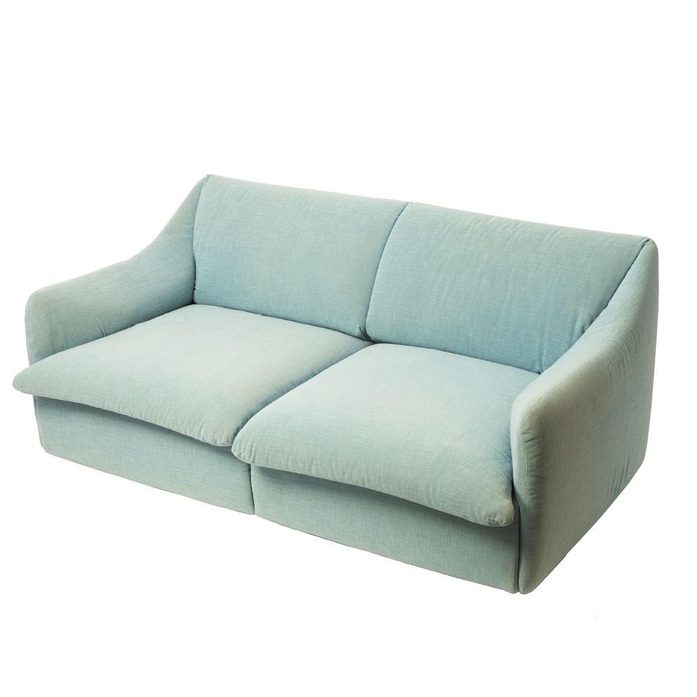 italienisches vintage sofa von giovanni offredi f r saporiti bei pamono kaufen. Black Bedroom Furniture Sets. Home Design Ideas