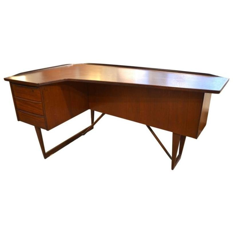 Scandinavian Desk scandinavian deskpeter løvig nielsen, 1950s for sale at pamono