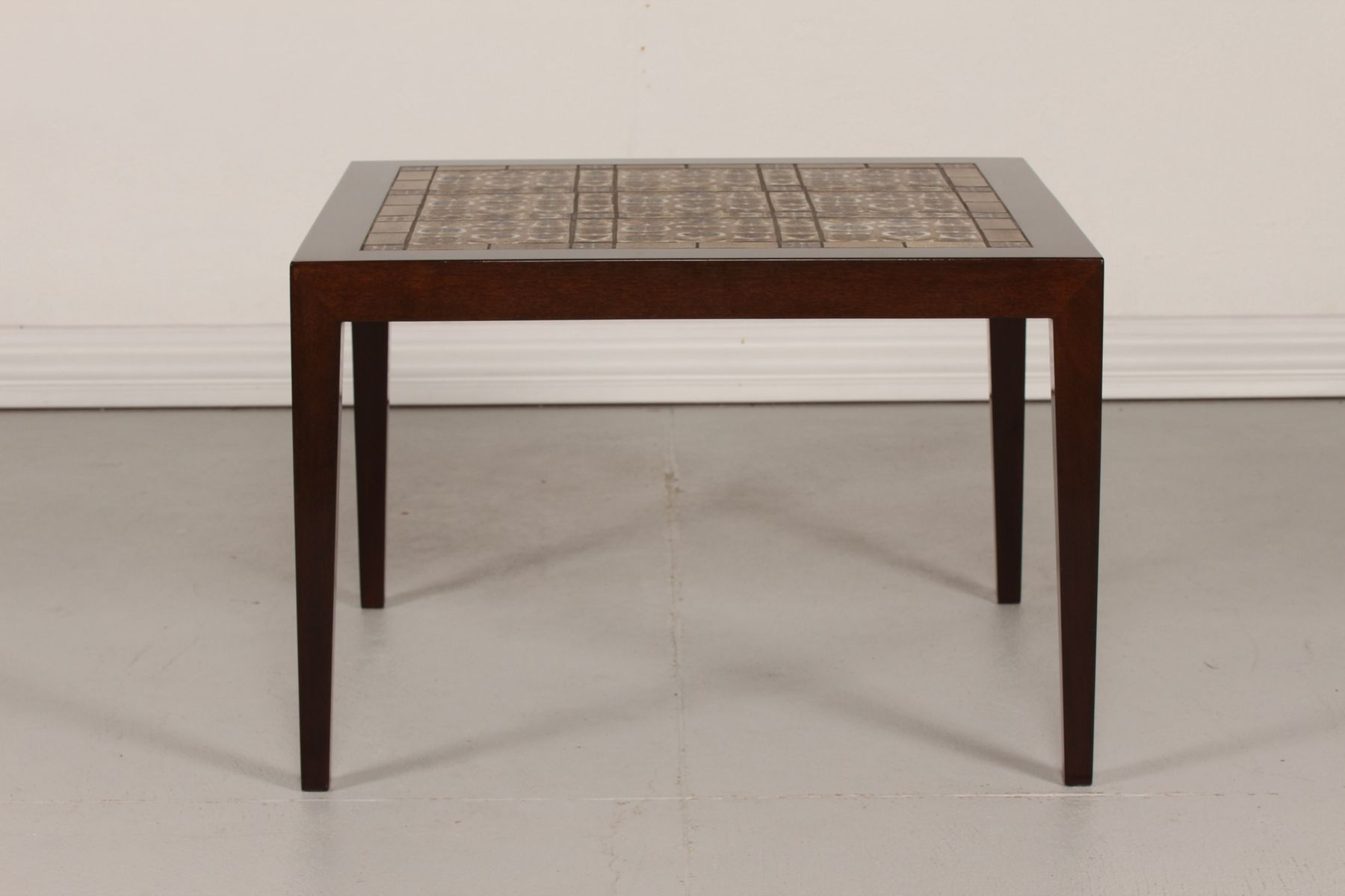 Tiled Coffee Table By Severin Hansen Jr For Haslev M Belfabrik 1960s For Sale At Pamono
