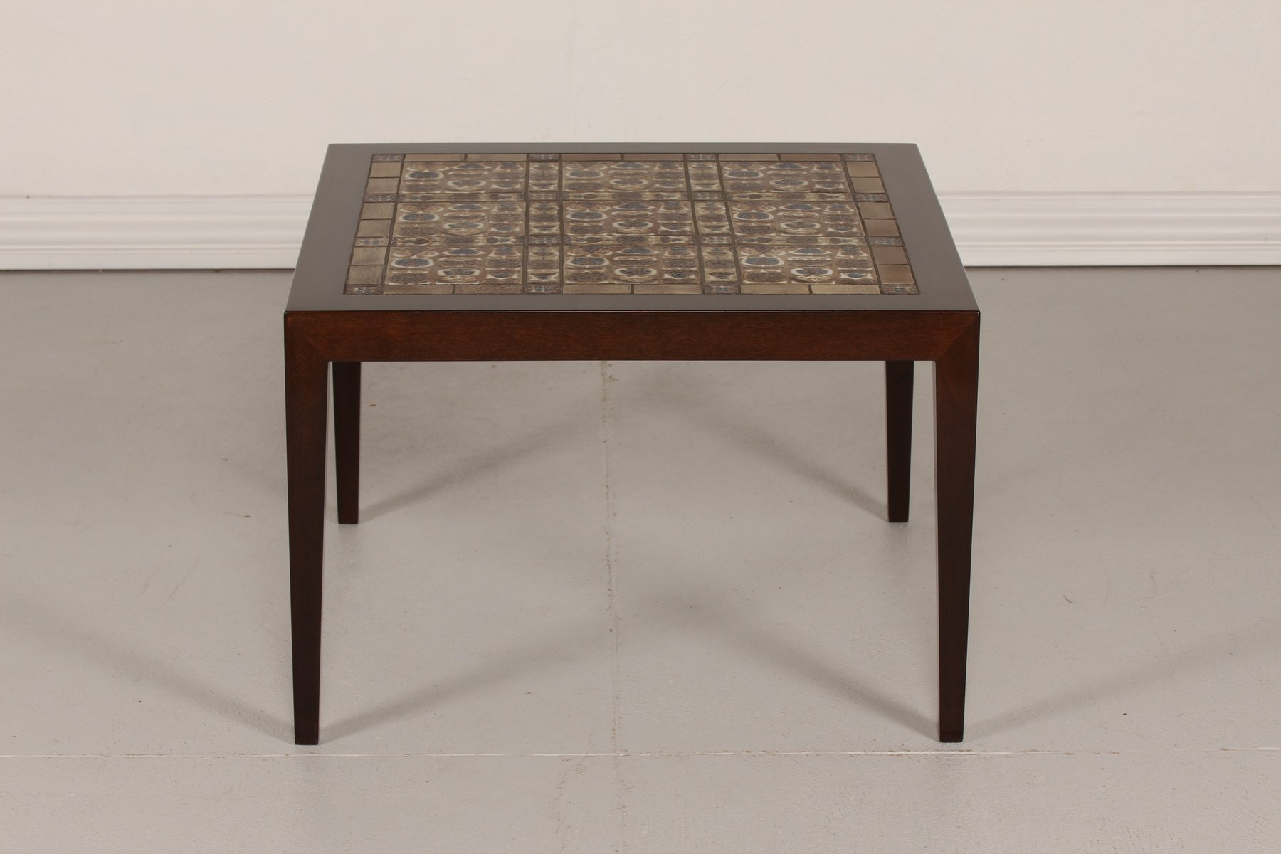 Tiled Coffee Table by Severin Hansen Jr for Haslev M¸belfabrik