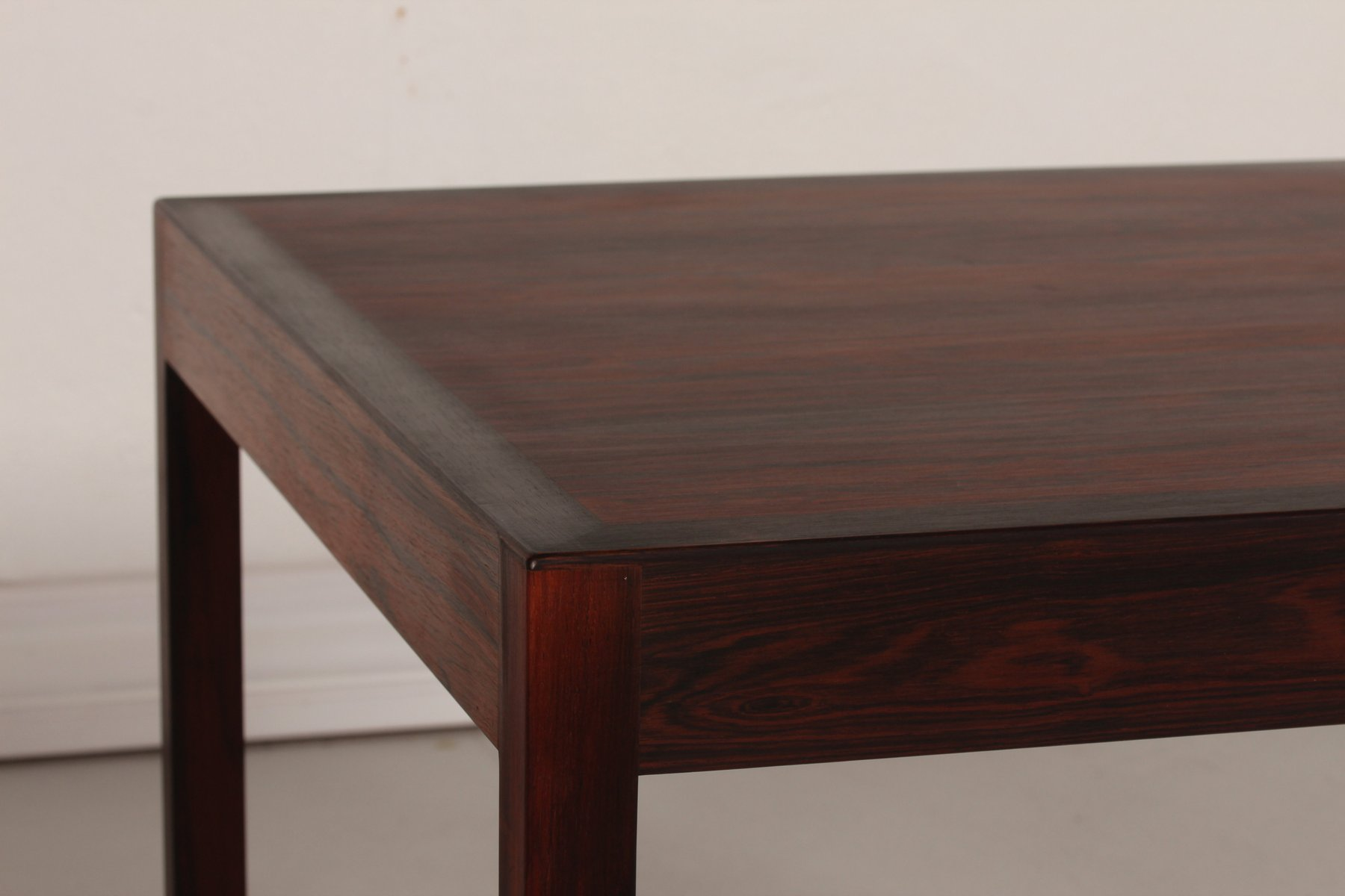 Rosewood Coffee Table By Hans J Wegner For Andreas Tuck 1960s For Sale At Pamono