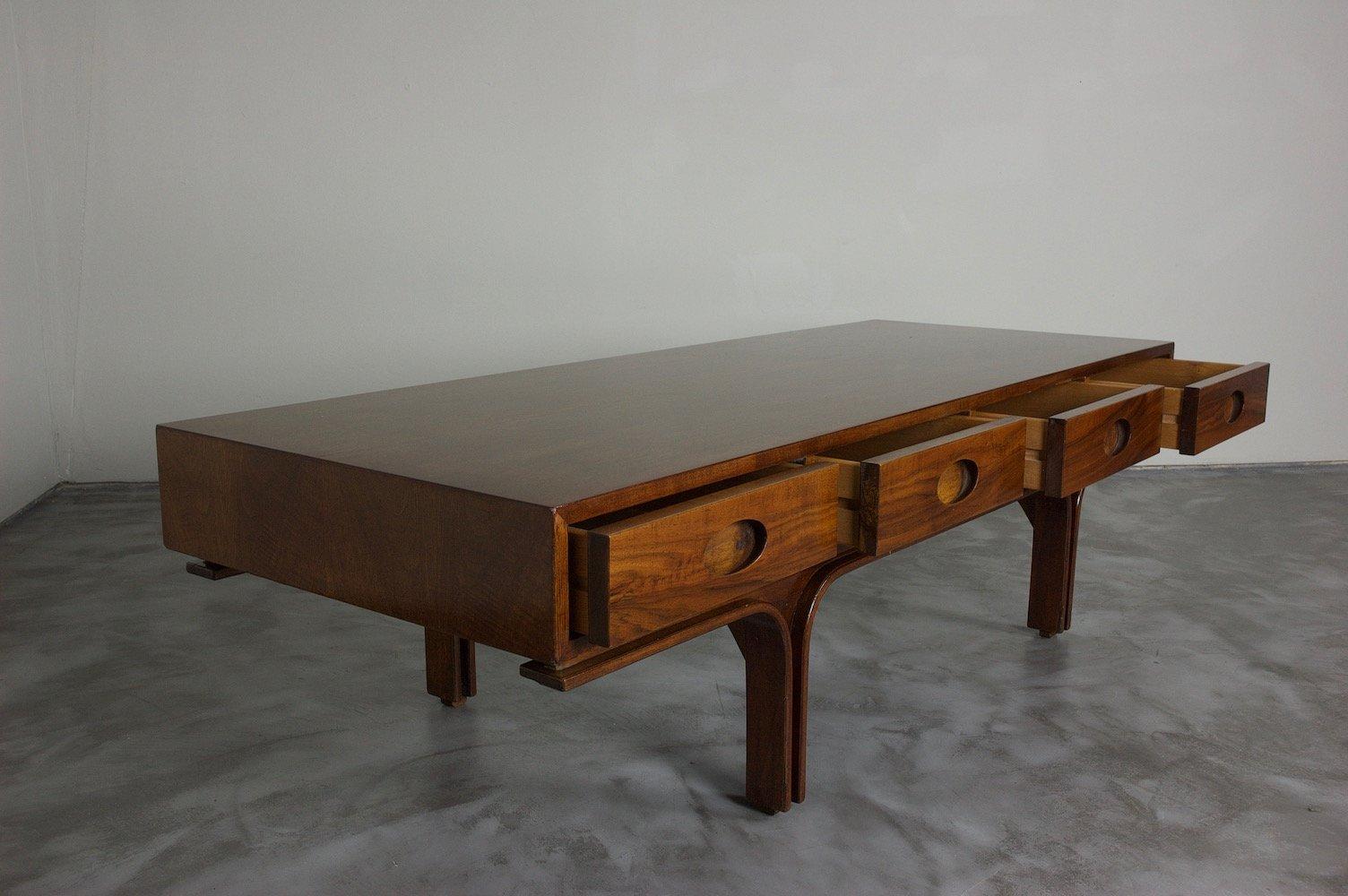 Italian coffee table by gianfranco frattini for bernini for Italian coffee table