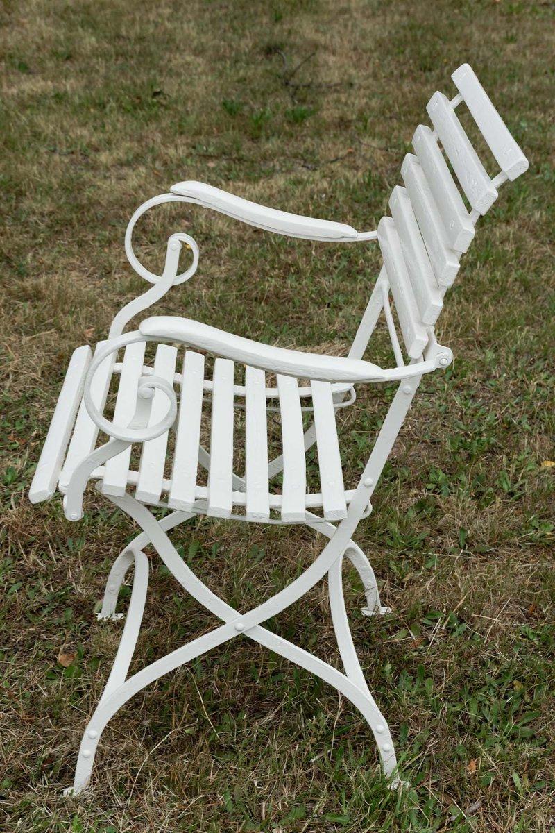 chaises de jardin en fer forg allemagne 1880s set de 2 en vente sur pamono. Black Bedroom Furniture Sets. Home Design Ideas