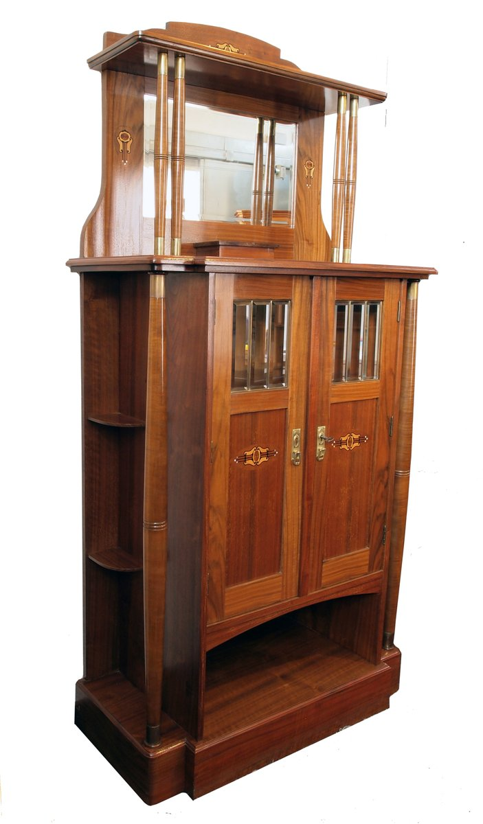 meuble de rangement art nouveau en vente sur pamono. Black Bedroom Furniture Sets. Home Design Ideas