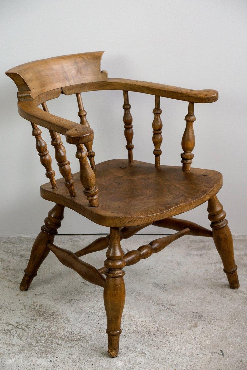 Antique Oak Office Chair For Sale old solid wood swivel desk