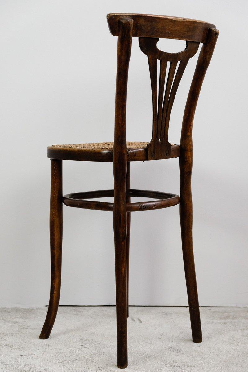 Chaise haute pour enfant en bois courb par michael thonet for Chaise haute en solde