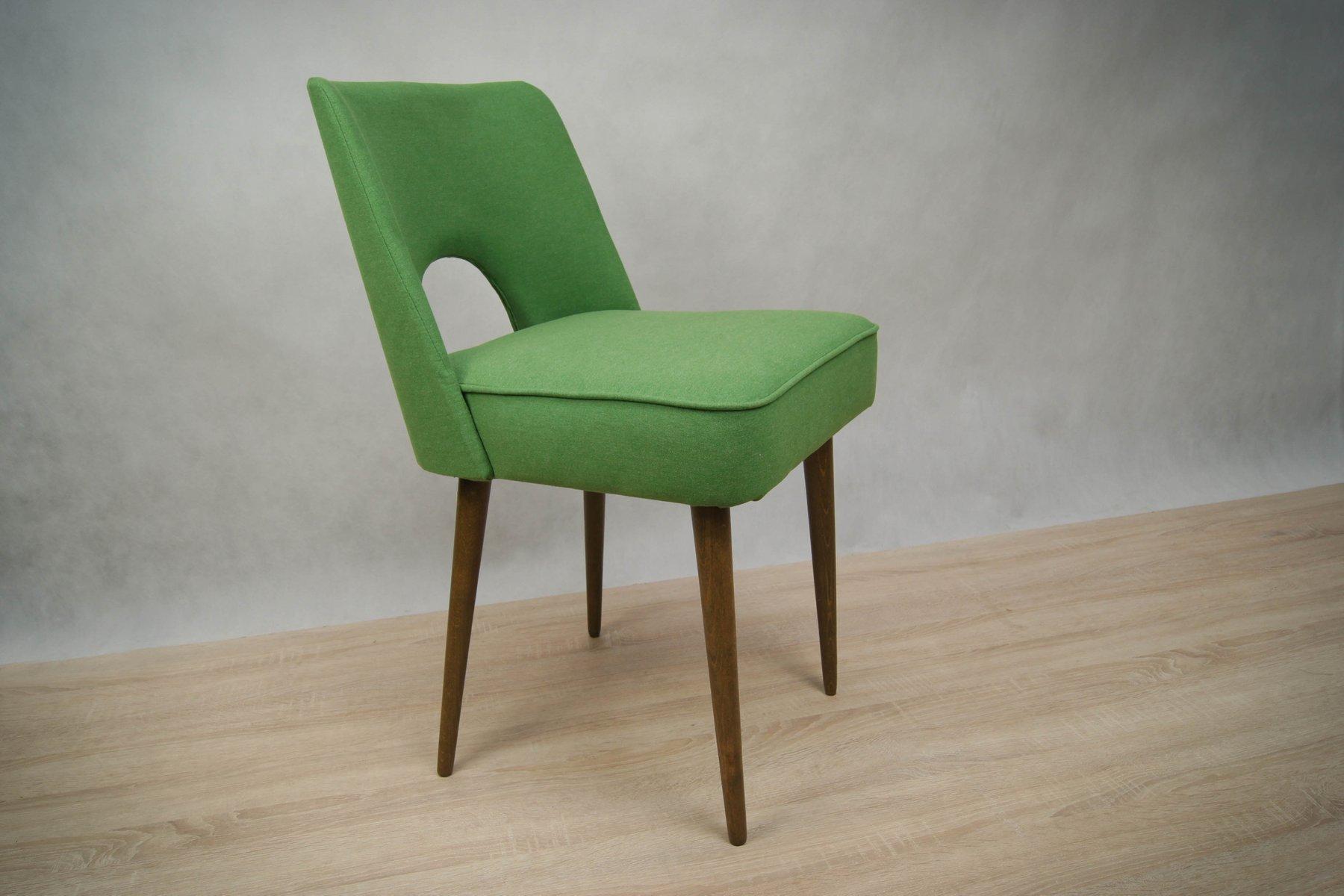 polnische muschel st hle 1960er 4er set bei pamono kaufen. Black Bedroom Furniture Sets. Home Design Ideas