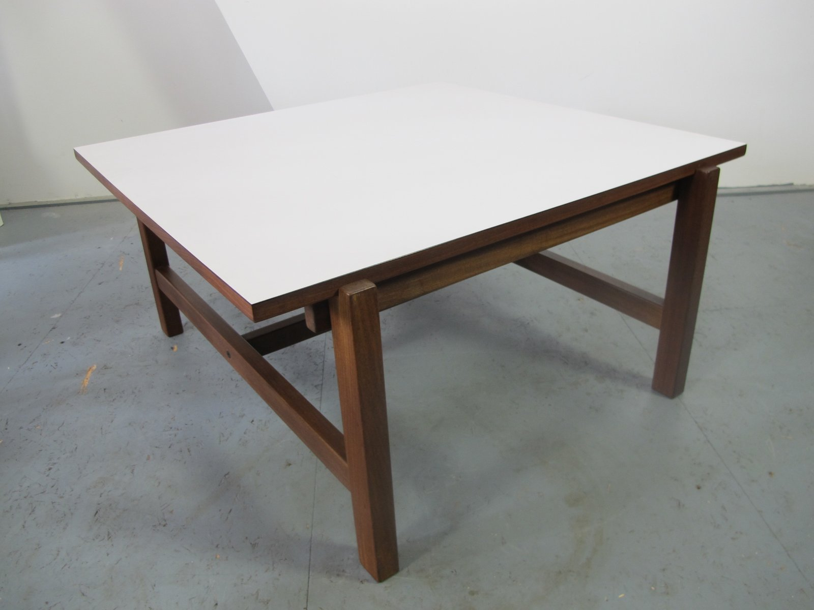 Vintage Teak and Formica Reversible Coffee Table from Pastoe for