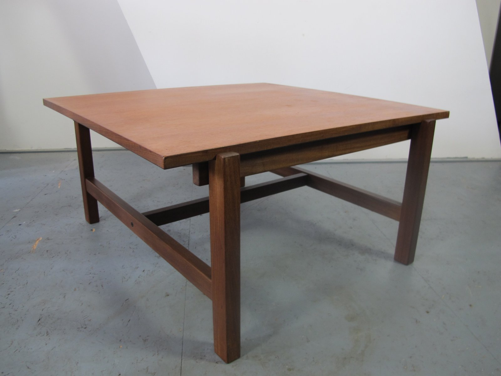 Vintage teak and formica reversible coffee table from for Formica table