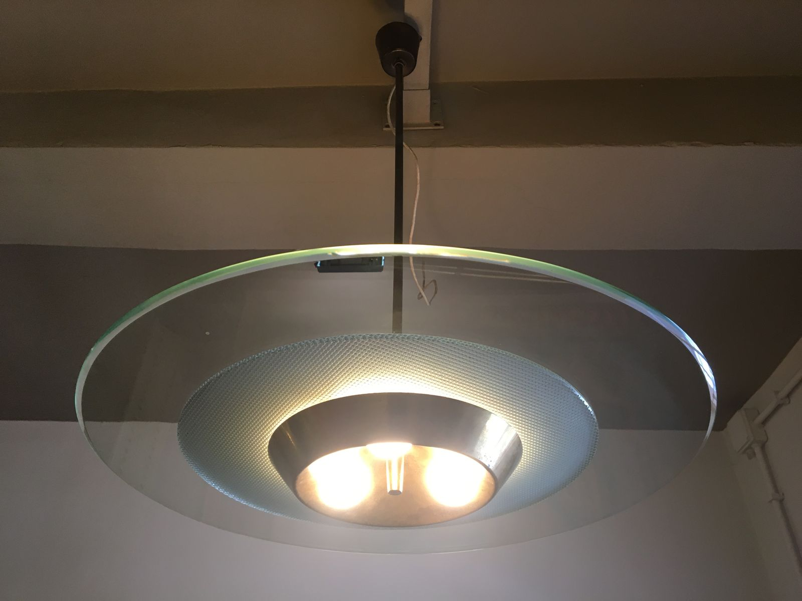 Circular Ceiling Light 1950s For Sale At Pamono