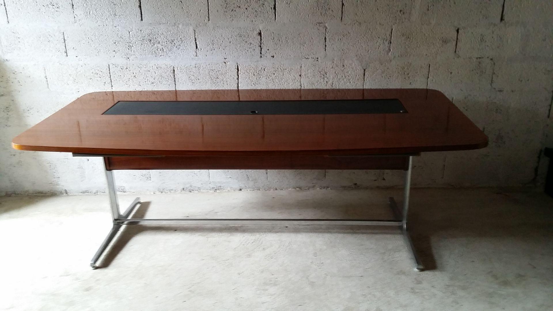 bureau vintage par george nelson pour herman miller en vente sur pamono. Black Bedroom Furniture Sets. Home Design Ideas