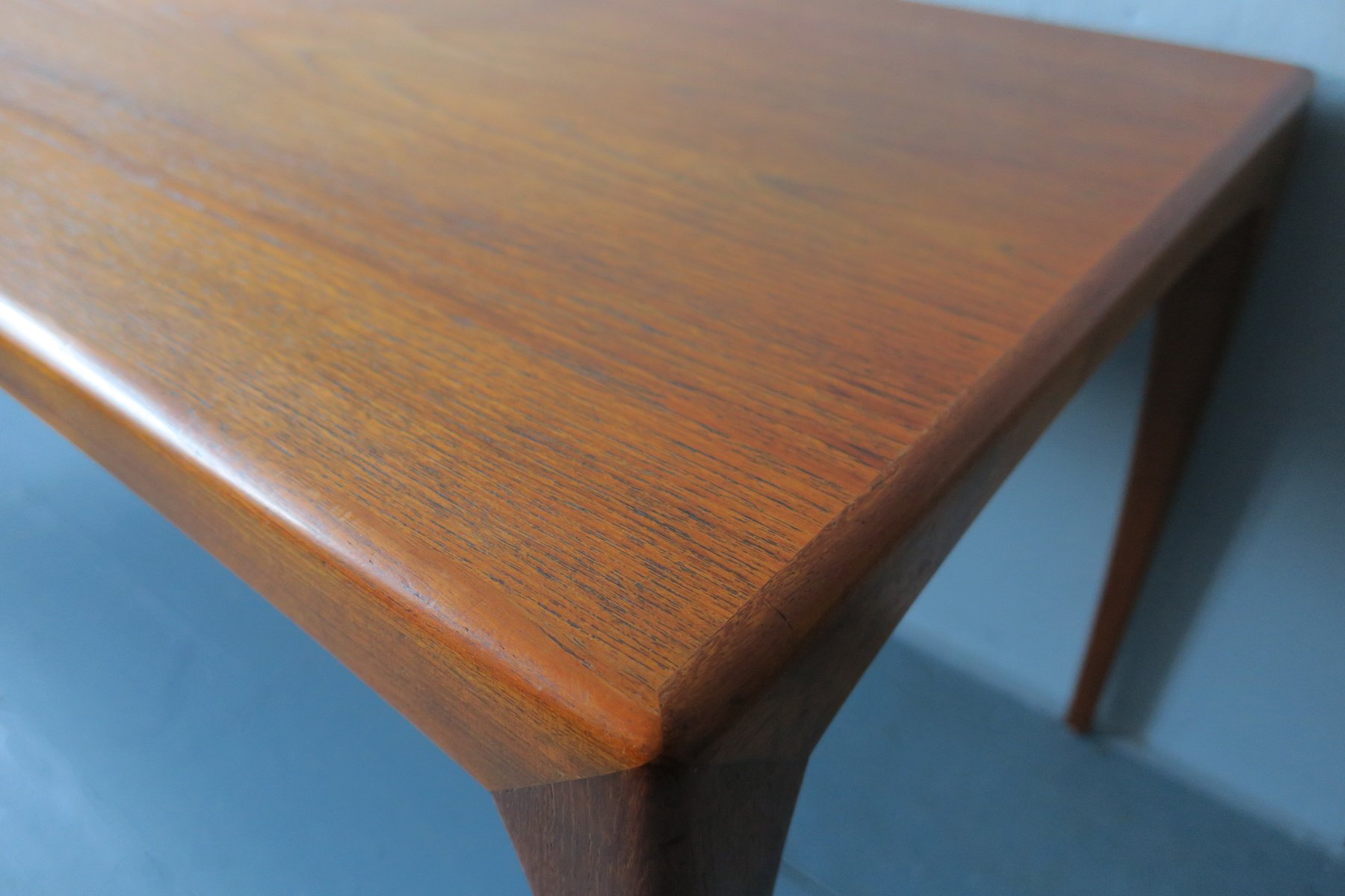 Mid Century Modern Danish Teak Coffee Table 1960s for sale at Pamono