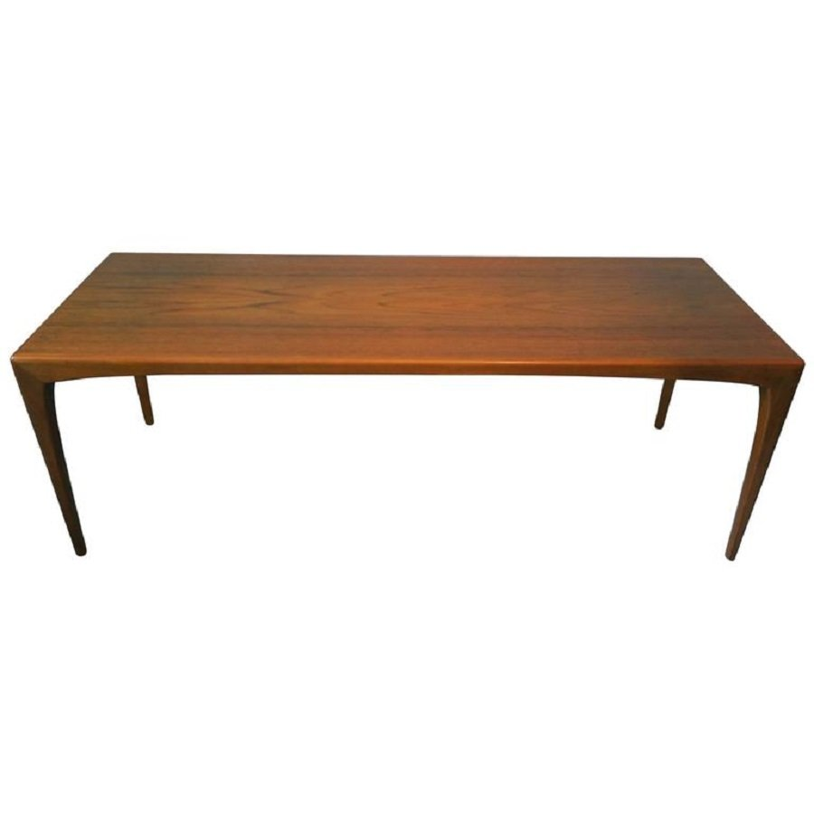 Mid century modern danish teak coffee table 1960s for sale at pamono Modern teak coffee table
