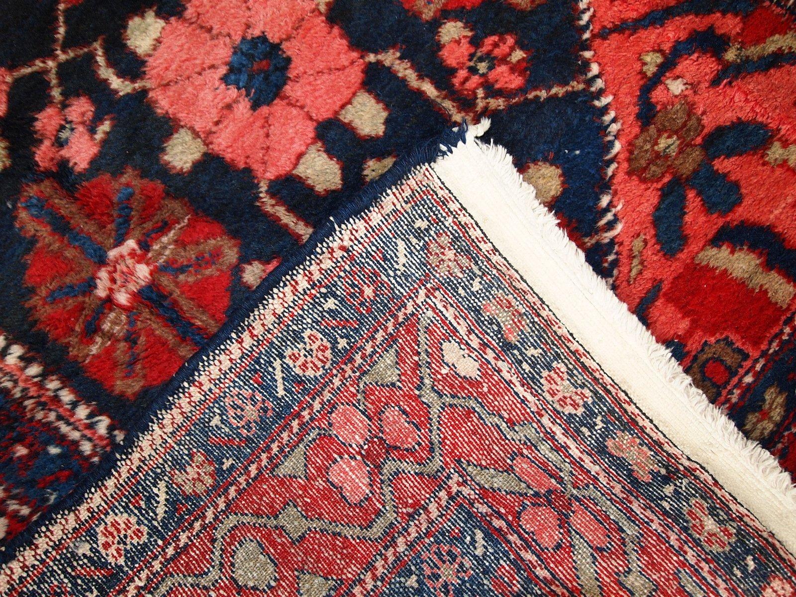 persischer vintage hamadan teppich 1920er bei pamono kaufen. Black Bedroom Furniture Sets. Home Design Ideas