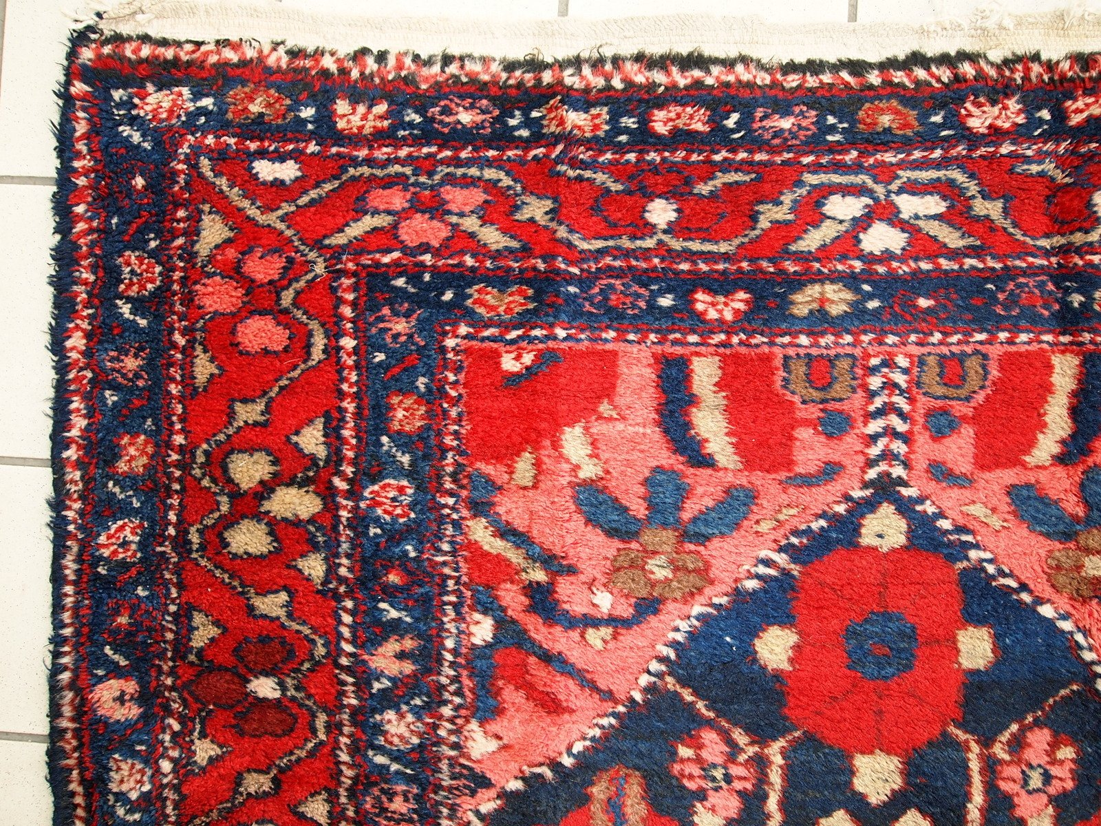 vintage persian hamadan rug, 1920s for sale at pamono