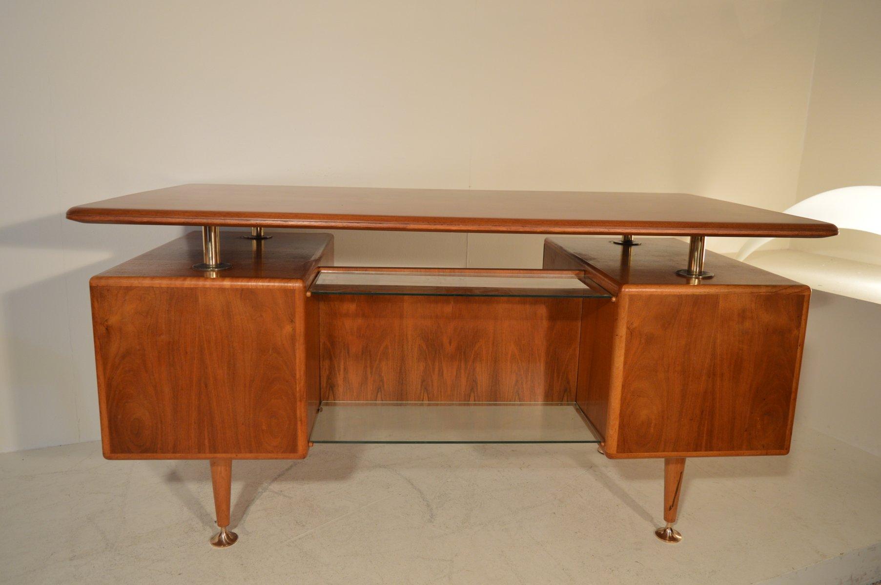 poly z schreibtisch und stuhl von abraham patijn f r zijlstra 1950er bei pamono kaufen. Black Bedroom Furniture Sets. Home Design Ideas