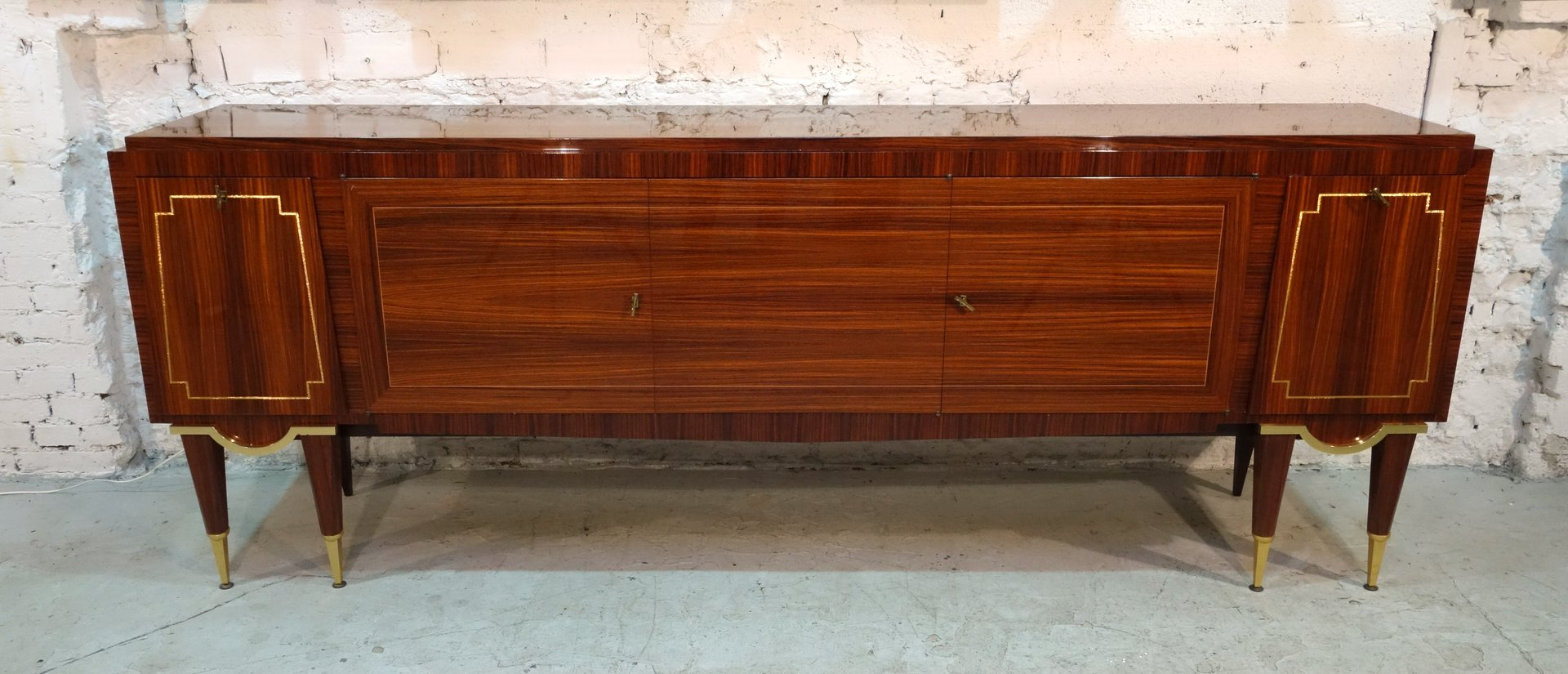 art d co sideboard from meuble triomphe 1940s for sale at pamono. Black Bedroom Furniture Sets. Home Design Ideas