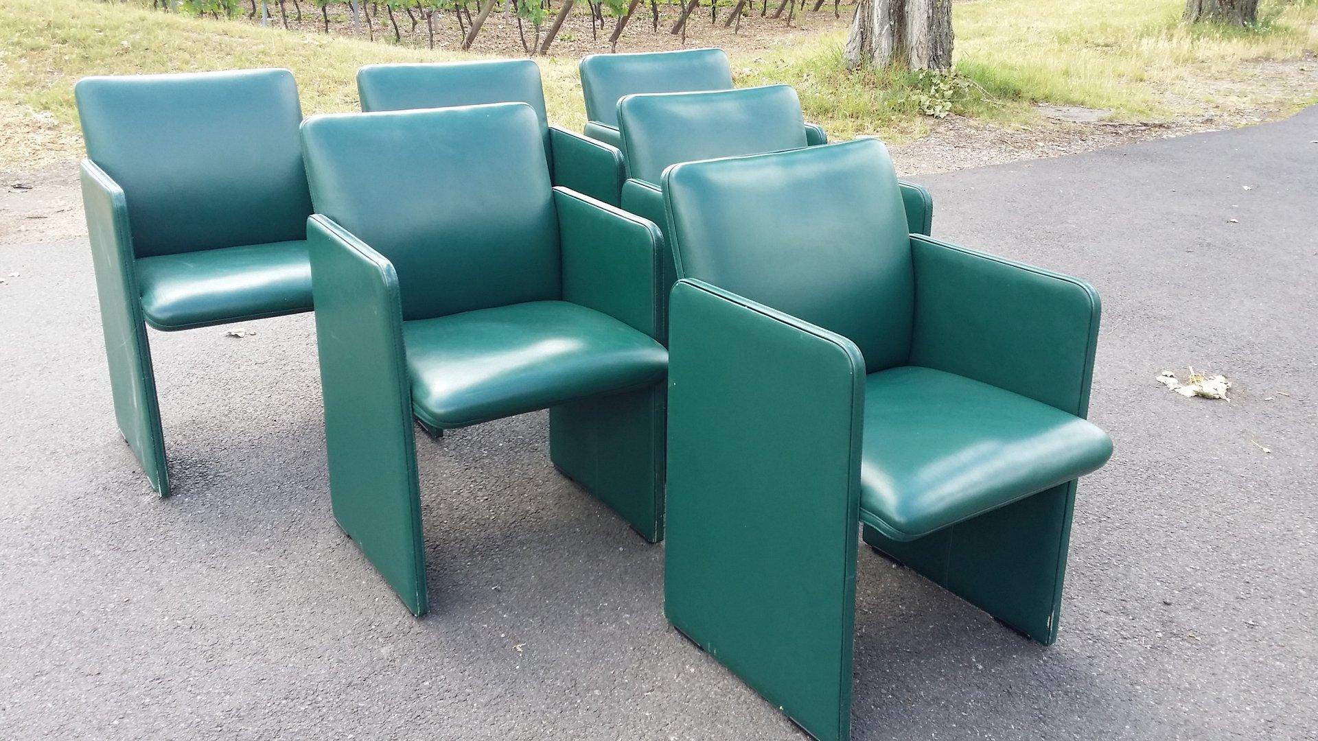 italienischer vintage sessel von luigi massoni f r. Black Bedroom Furniture Sets. Home Design Ideas