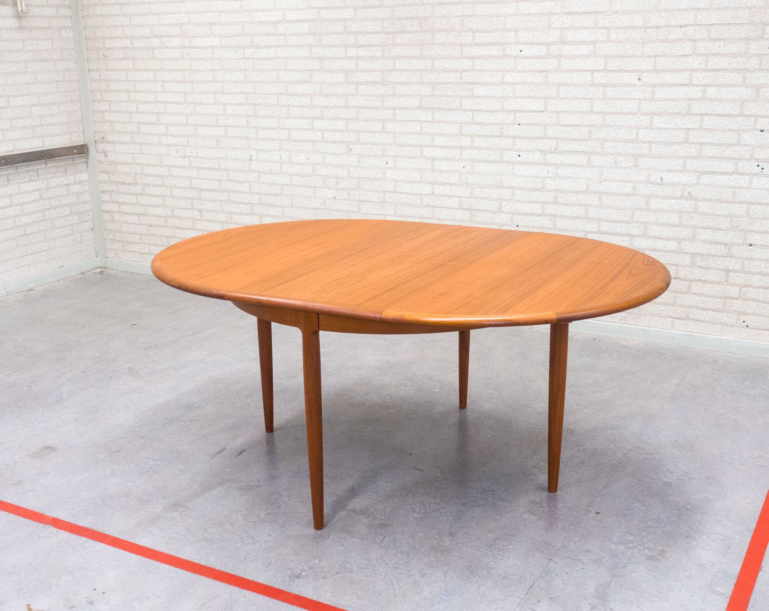 Vintage Extendable Teak Dining Table by Niels Otto M248ller  : vintage extendable teak dining table by niels otto moller for j l mollers 2 from www.pamono.com size 1511 x 1200 jpeg 181kB