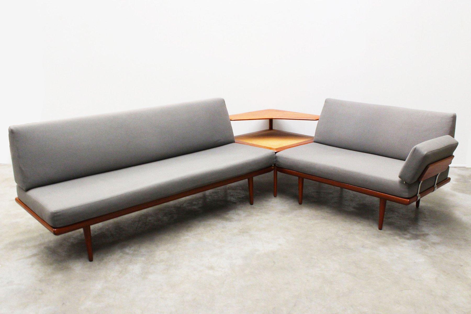 minerva sofa set von peter hvidt orla m lgaard nielsen f r france s n 1960er bei pamono kaufen. Black Bedroom Furniture Sets. Home Design Ideas