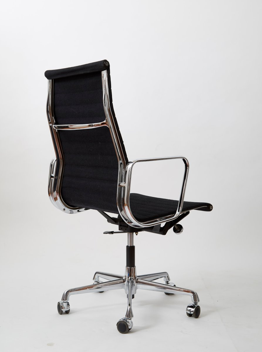 aluminium ea 119 stuhl von charles ray eames f r vitra. Black Bedroom Furniture Sets. Home Design Ideas