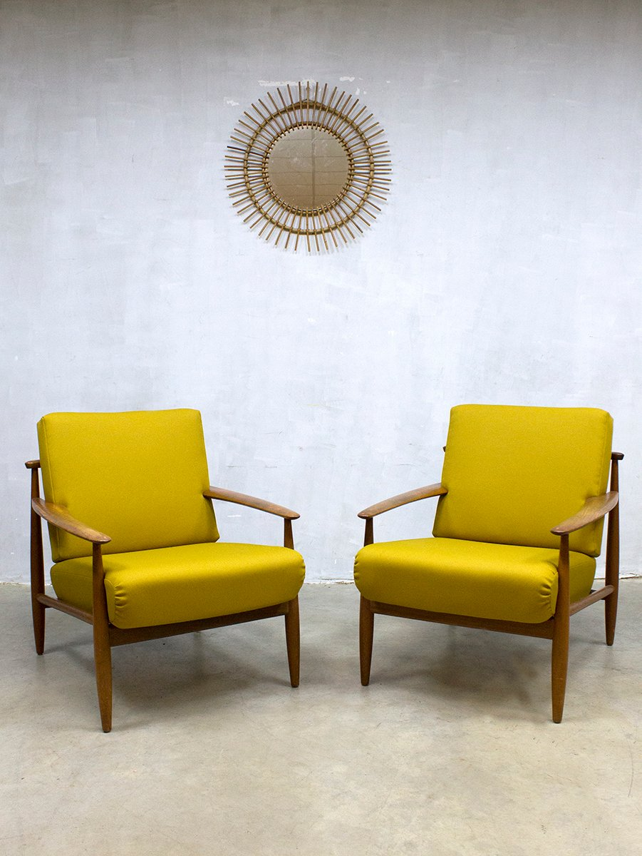 Mid Century Danish Lounge Chair For Sale At Pamono