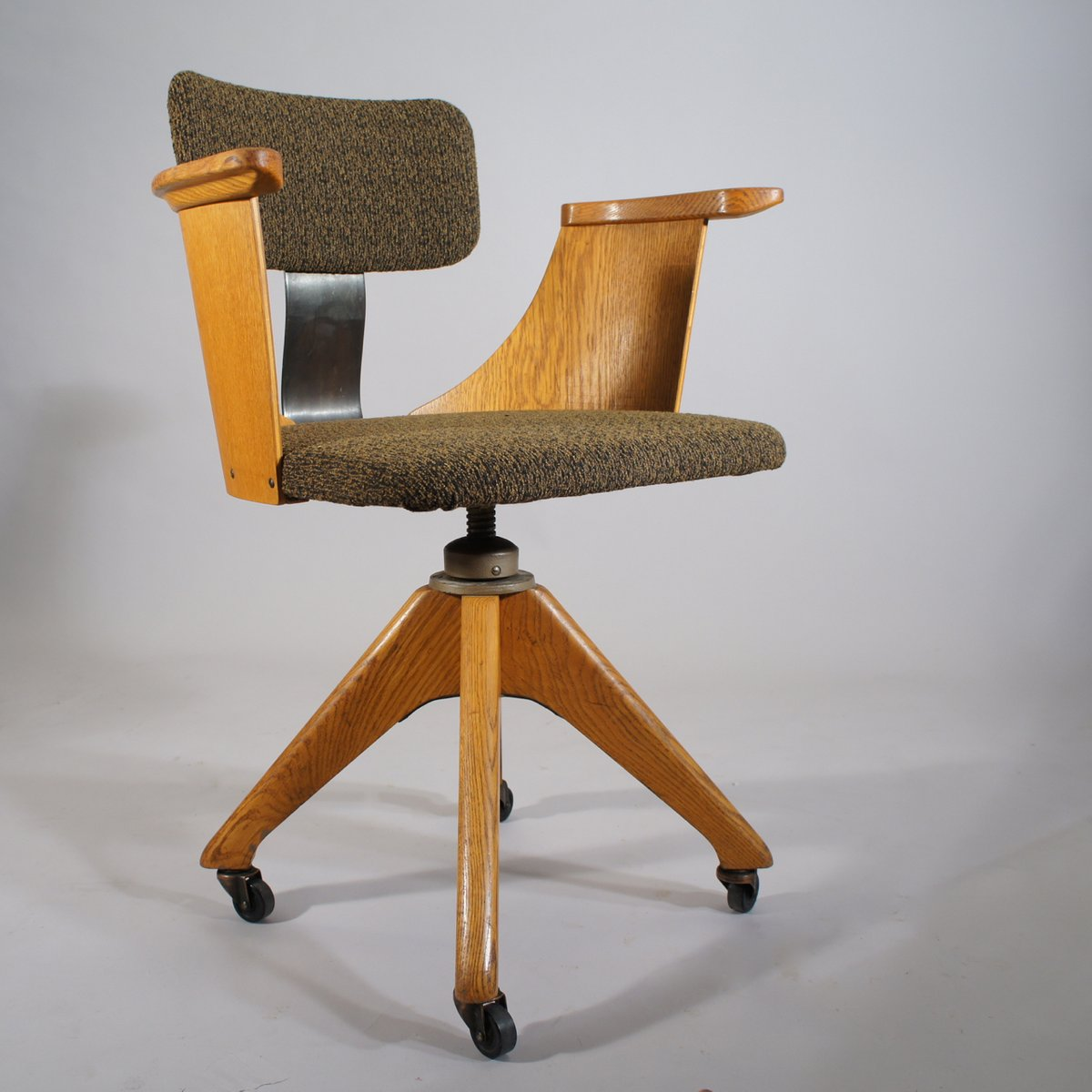 Vintage Height Adjustable Office Chair For Sale At Pamono