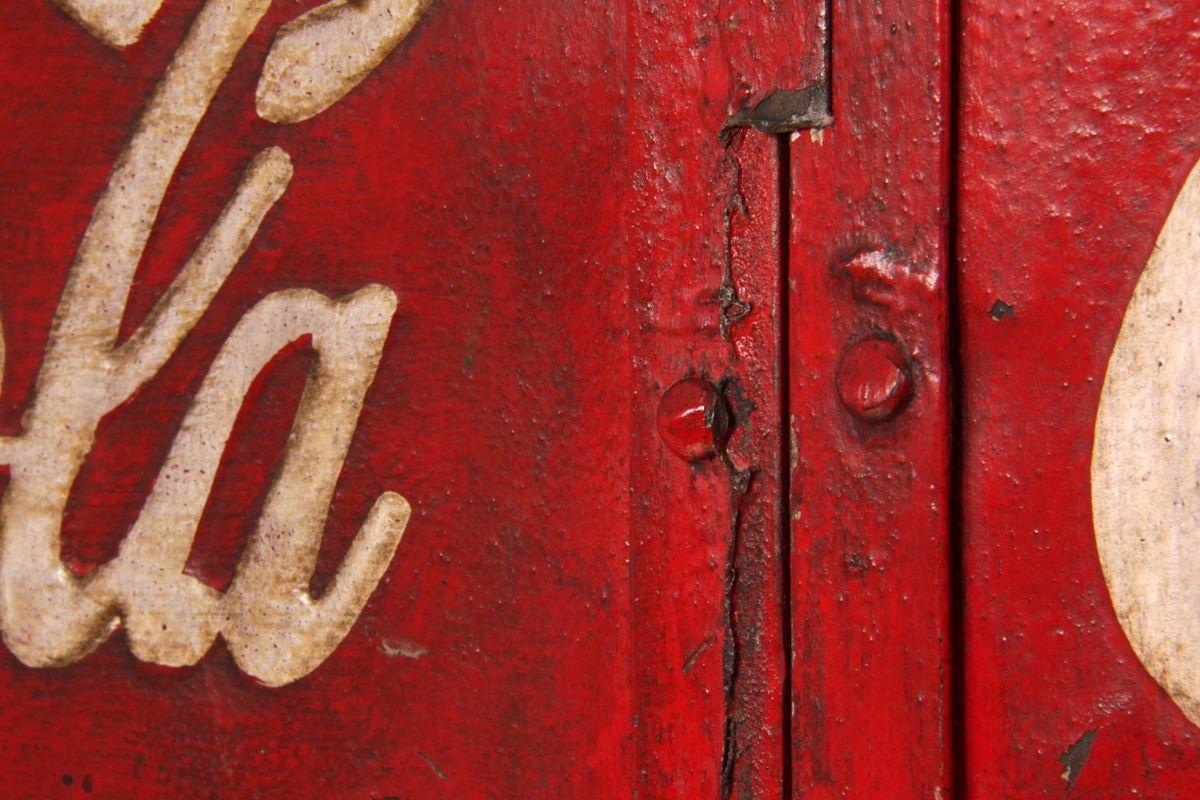 Vintage Coca Cola Machine -