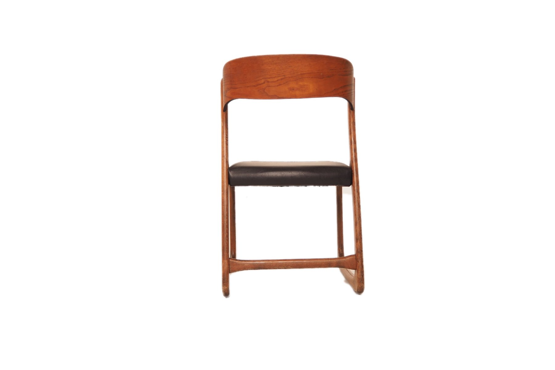 Mid-Century French Dining Room Chairs by Baumann, Set of 4 for ...