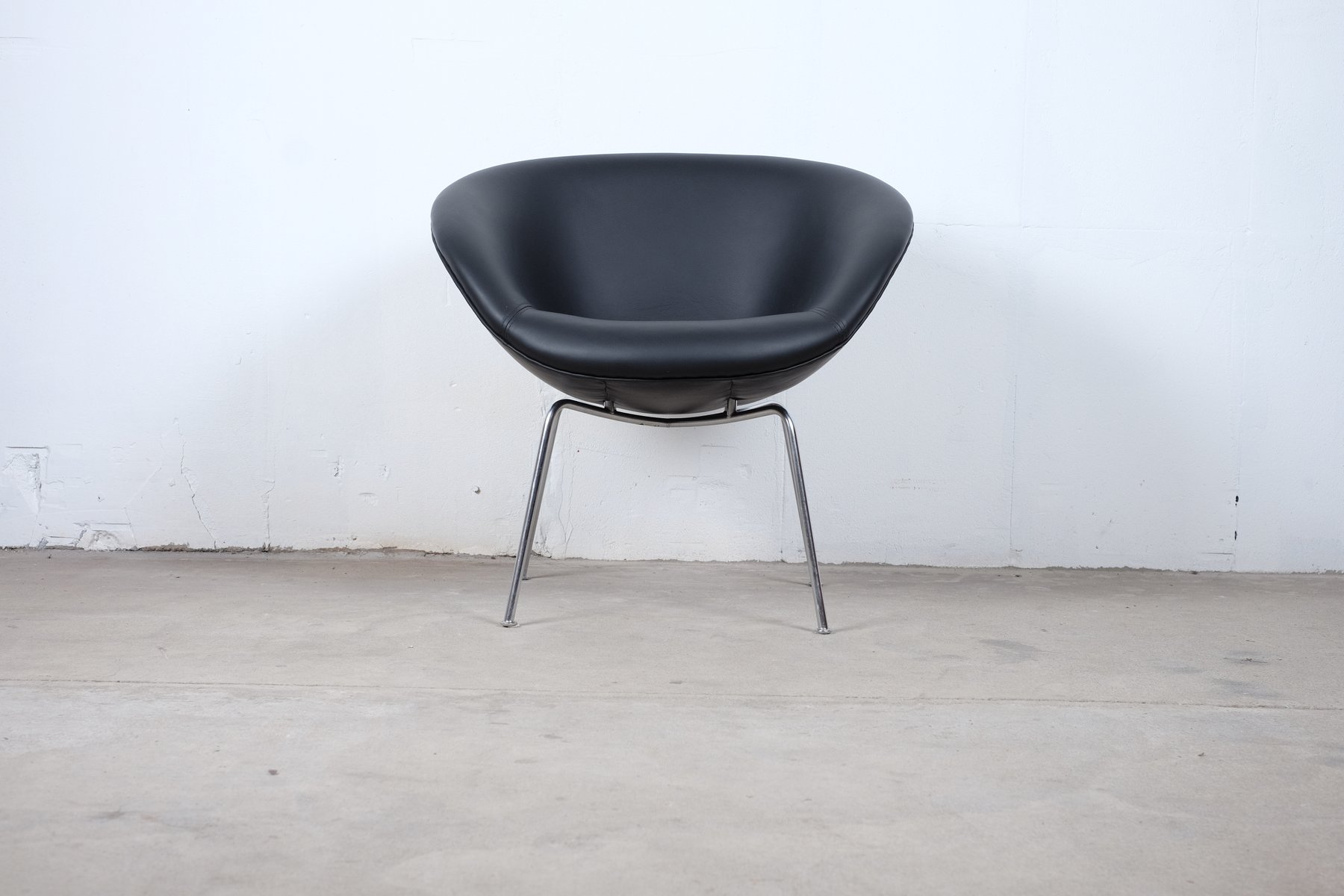 vintage danish model 3318 chair by arne jacobsen for fritz hansen for sale at pamono. Black Bedroom Furniture Sets. Home Design Ideas