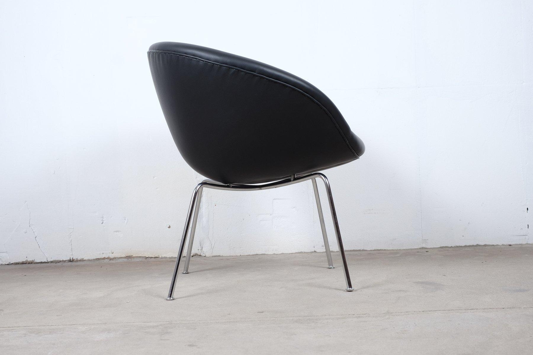 Vintage danish model 3318 chair by arne jacobsen for fritz for Chaise arne jacobsen