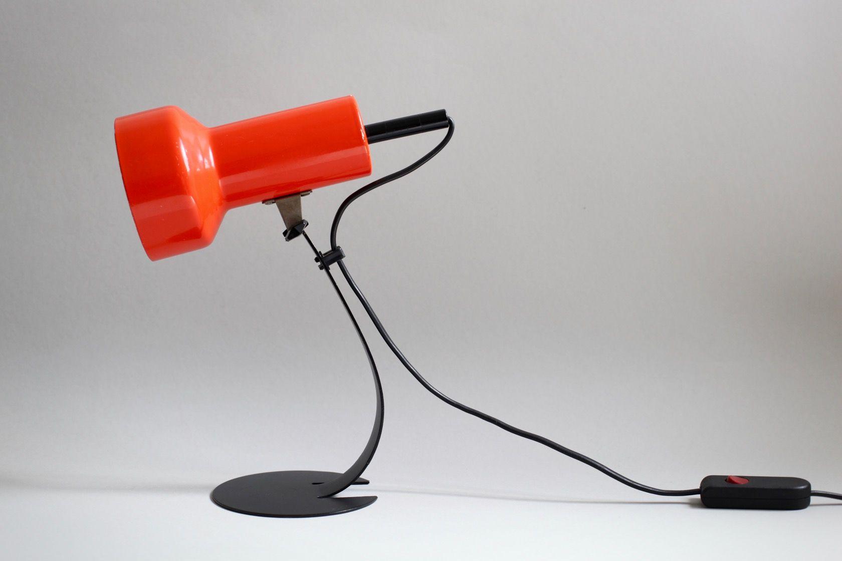 petite lampe de bureau 1970s en vente sur pamono. Black Bedroom Furniture Sets. Home Design Ideas