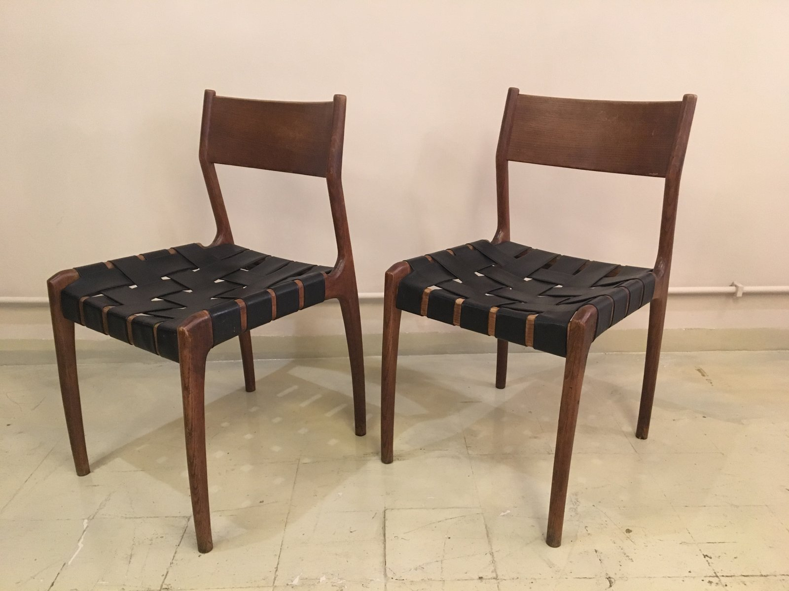 Scandivian Mid Century Dining Chair for sale at Pamono