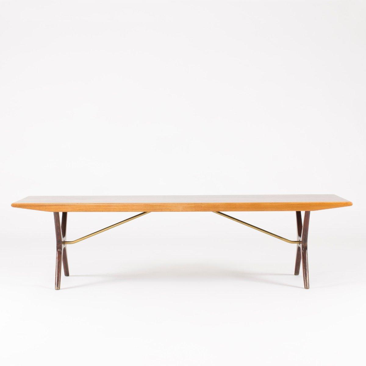 Swedish Rosewood Birch Coffee Table By Karl Erik Ekselius For Joc Vetlanda 1950s For Sale At