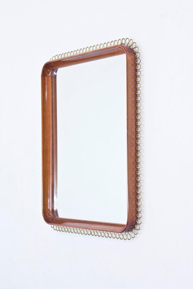 Schwedische mahagoni spiegel 1950er 2er set bei pamono for Spiegel englisch
