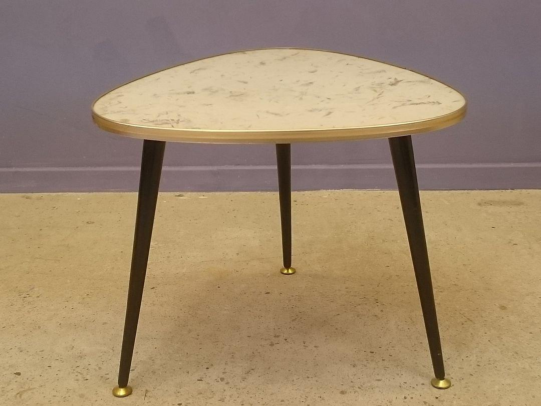 Freeform Tripod Coffee Table, 1950s