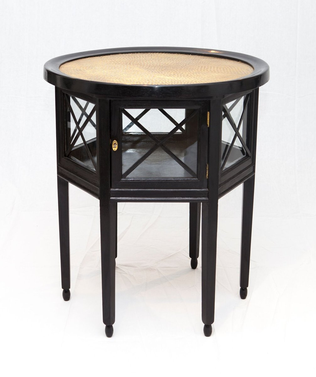 Secessionist coffee table with showcase 1903 for sale at for Showcase coffee table