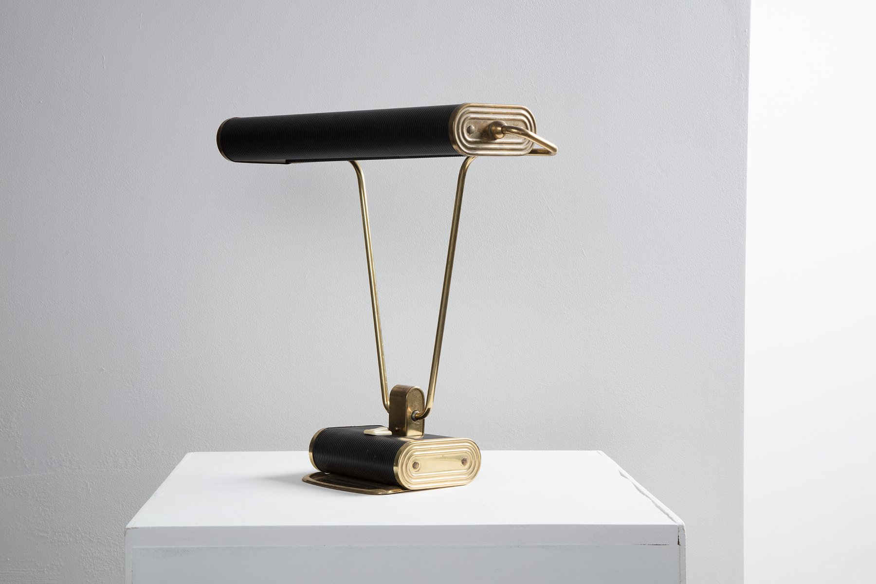 N71 Desk Lamp by Eileen Gray for Jumo 1940s for sale at Pamono