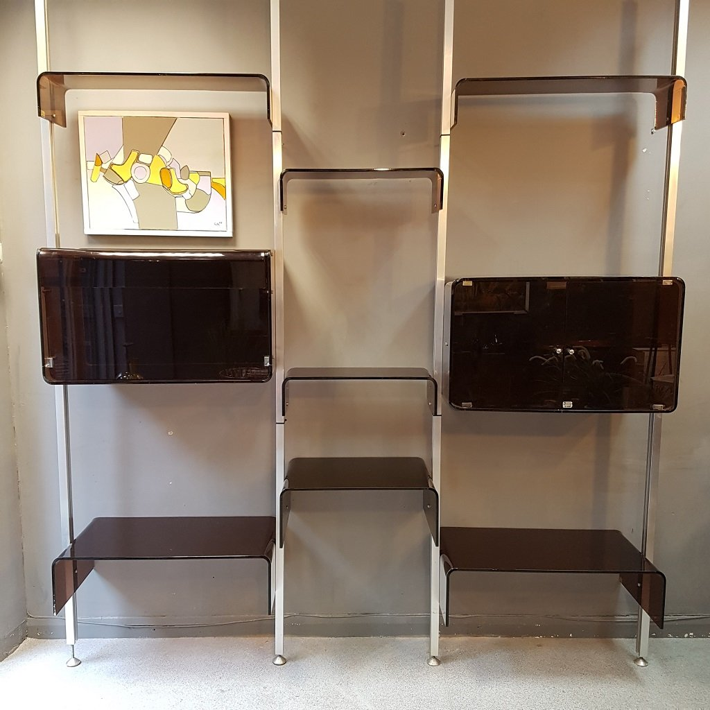 Modular Shelving Unit By Michel Ducaroy 1970s For Sale At