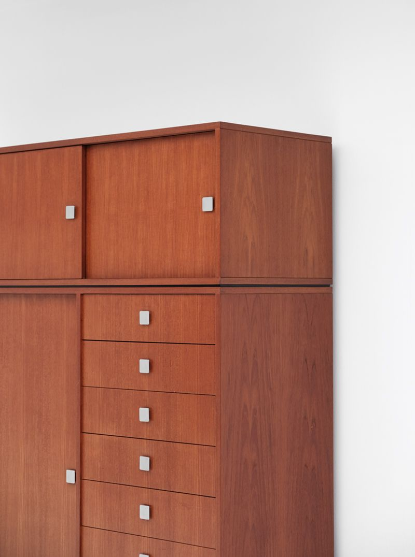 vintage kleiderschrank von alfred hendrickx f r belform. Black Bedroom Furniture Sets. Home Design Ideas