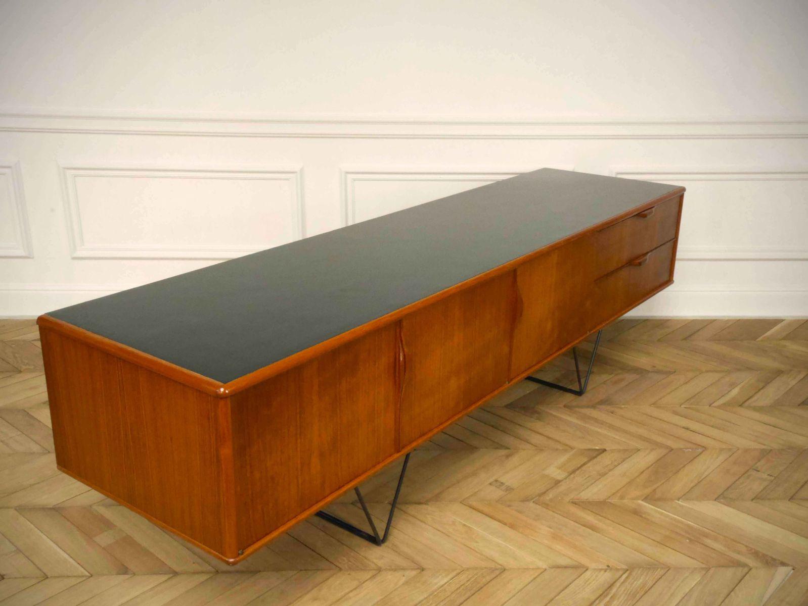 minimalist mid century sideboard 1960s for sale at pamono. Black Bedroom Furniture Sets. Home Design Ideas