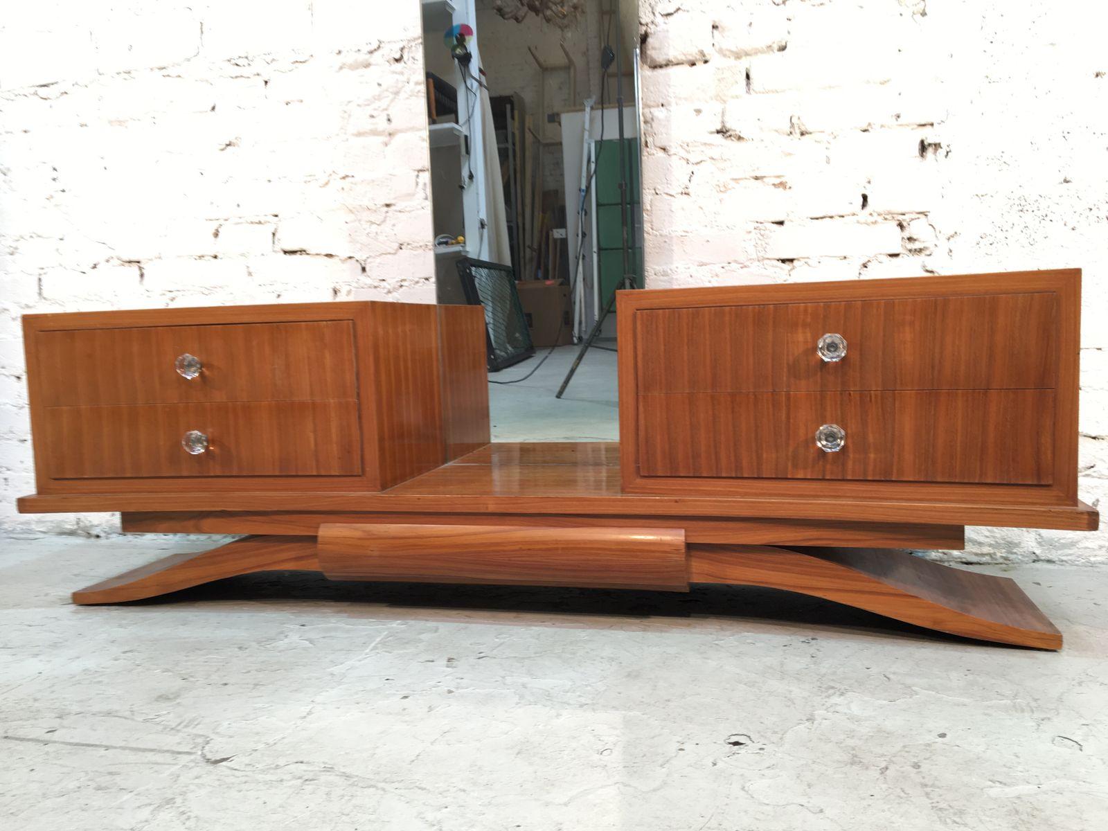 coiffeuse art d co 1935 en vente sur pamono. Black Bedroom Furniture Sets. Home Design Ideas