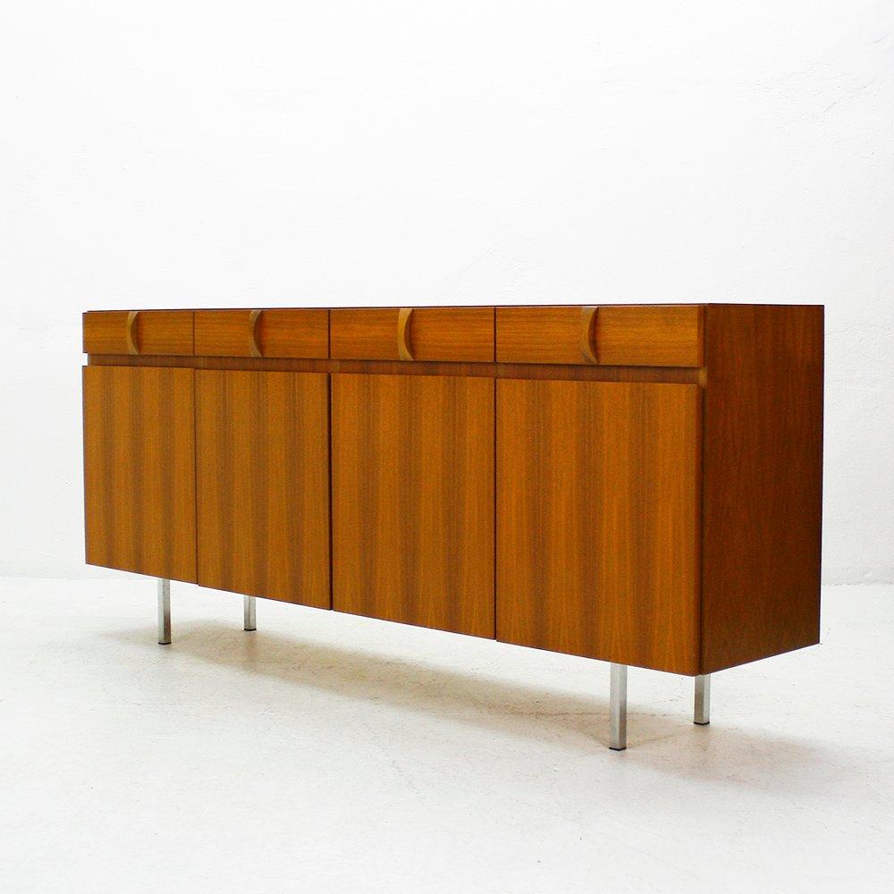 walnuss sideboard von ga el m bel 1960er bei pamono kaufen. Black Bedroom Furniture Sets. Home Design Ideas