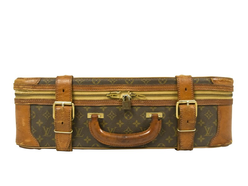 french vintage suitcase from louis vuitton 1960s for sale. Black Bedroom Furniture Sets. Home Design Ideas