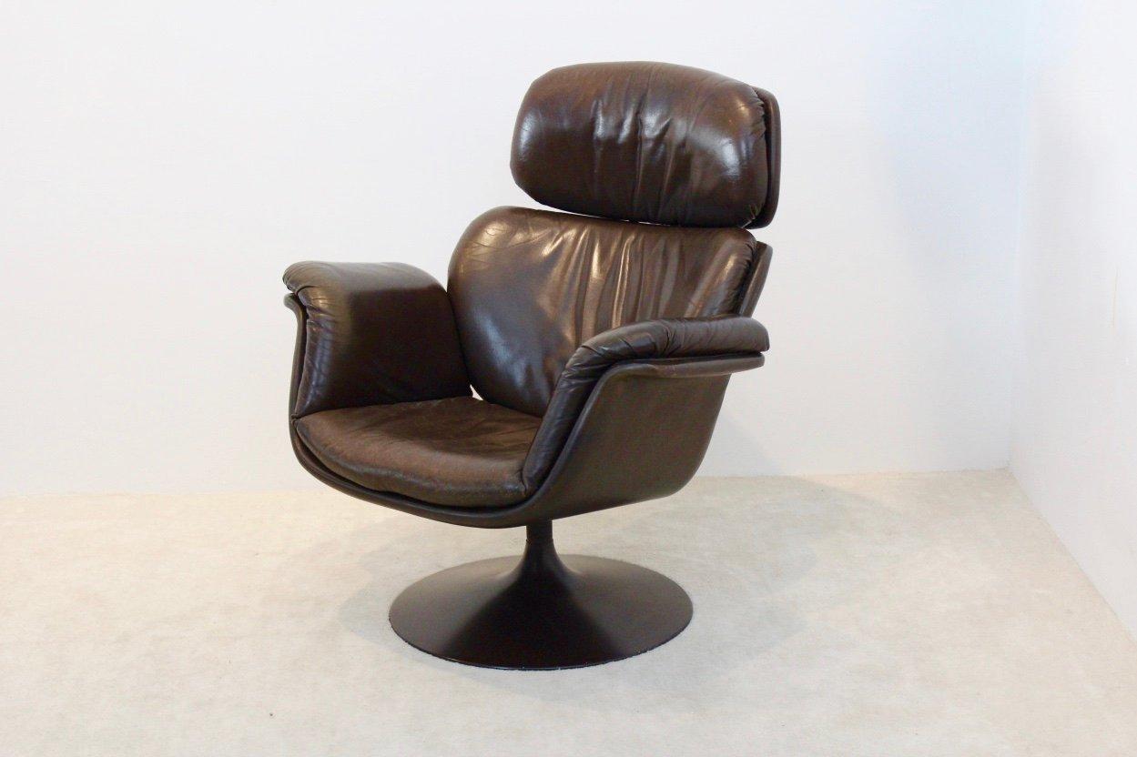 grande chaise original f545 tulipe par pierre paulin pour. Black Bedroom Furniture Sets. Home Design Ideas