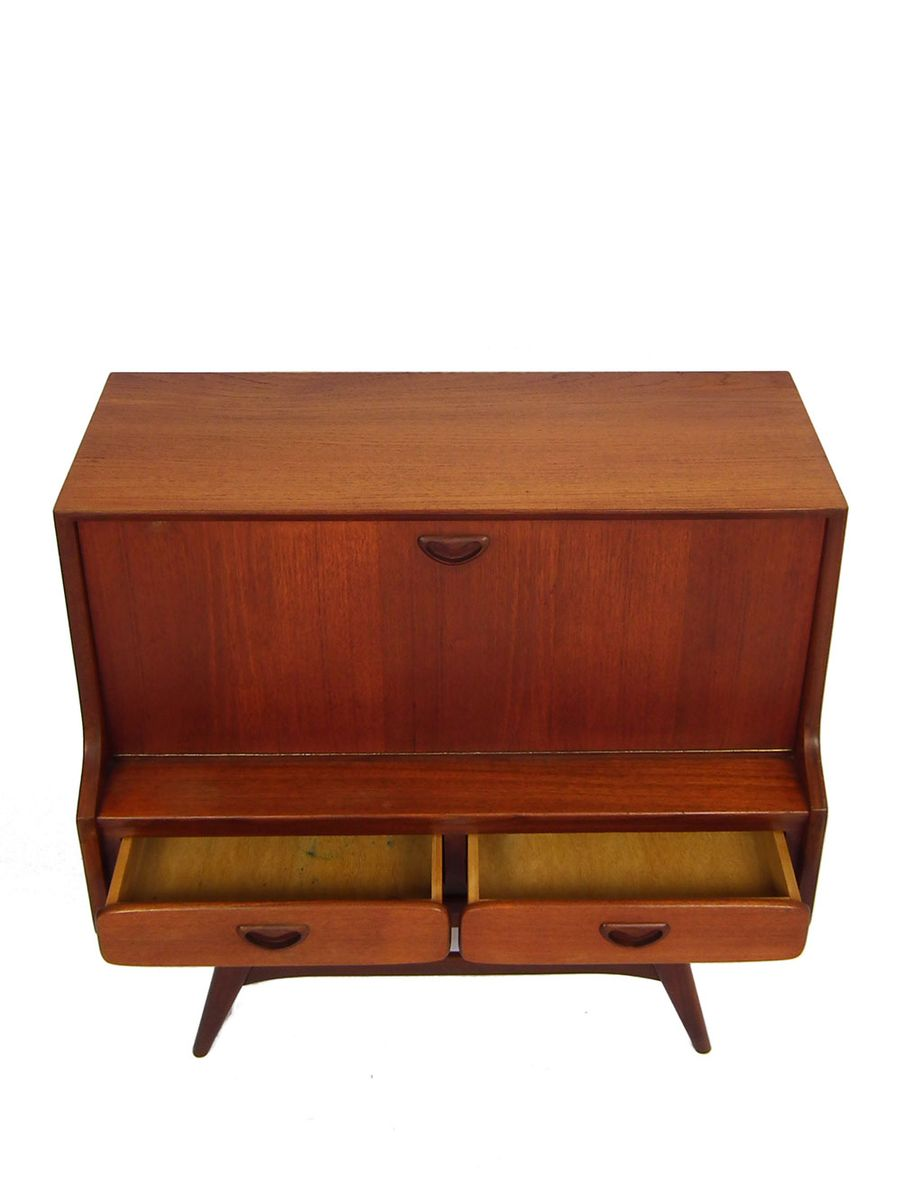 Small Mid Century Cabinet By Louis Van Teeffelen For W B