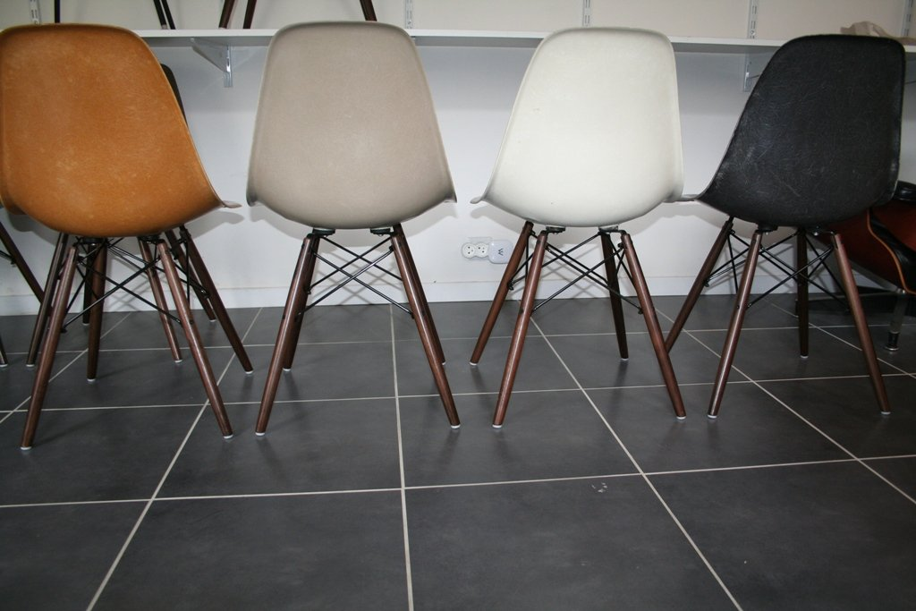 Vintage eames chairs for sale