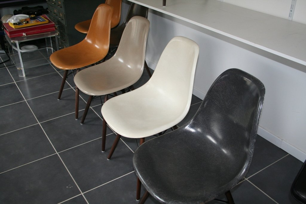 vintage eames chair eBay